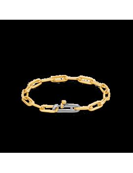 Bracelet Argent Ti Sento plaqué or