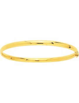 Bracelet Jonc Or Jaune Creux