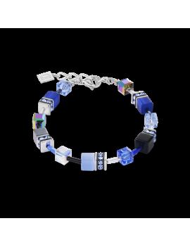 Bracelet GeoCUBE® bleu cobalt
